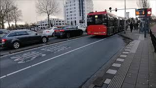 Het Bus en Trein vervoer in Haarlem 12 en 13-02-2020