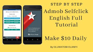 New Admob Self Click Strategy - English Tutorial (100% No Ban And High CPC)