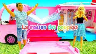 Download Barbie et Ken au camping. Vidéo de poupées pour les filles. Mp3 and Videos