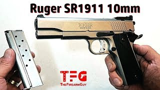 Ruger SR1911 10mm Review - TheFireArmGuy