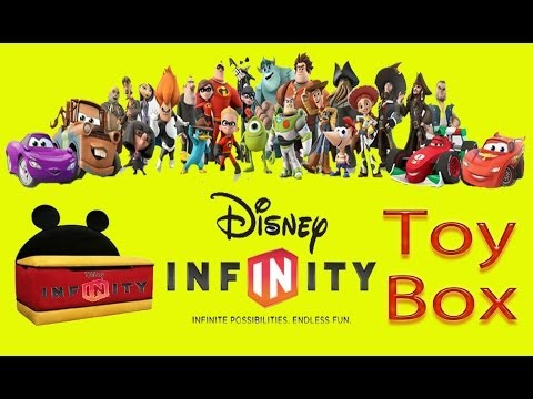 Disney Infinity Toy Box Share: Santa's Workshop And Frozen Challenge