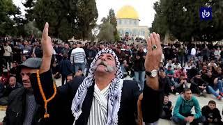 إخلاء المسجد الأقصى يوم الجمعة عقب مطالبات من منظمات الهيكل تزامناص مع حلول عيد الفصح اليهودي