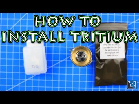 How to install Tritium