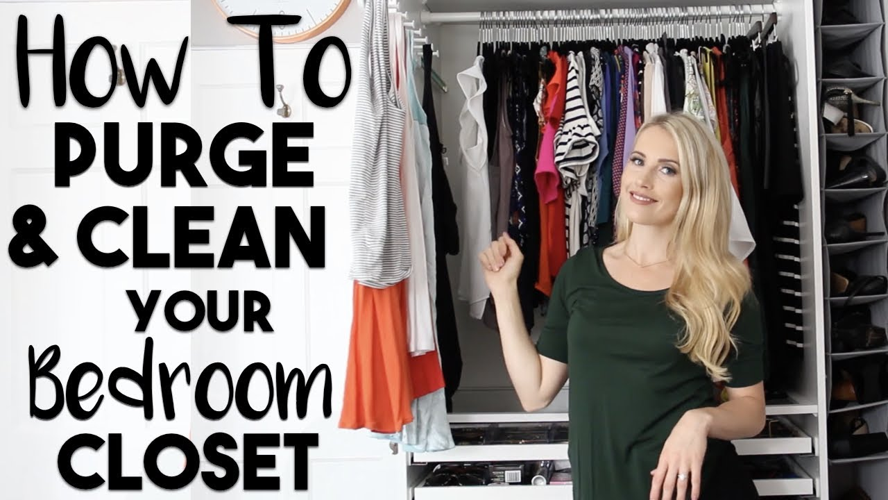 Organize 20 ways to clean purge and organize your for How to clean and organize your closet
