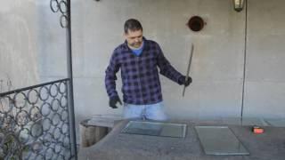 видео Резка стекла алмазными и роликовыми стеклорезами » Строительство и ремонт