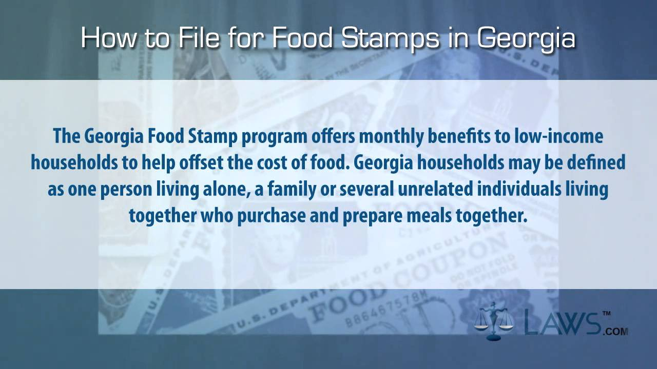 How To Cancel Food Stamps In Georgia