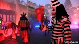 Hd Creepy Killer Clowns Scare Zone Halloween Horror Nights