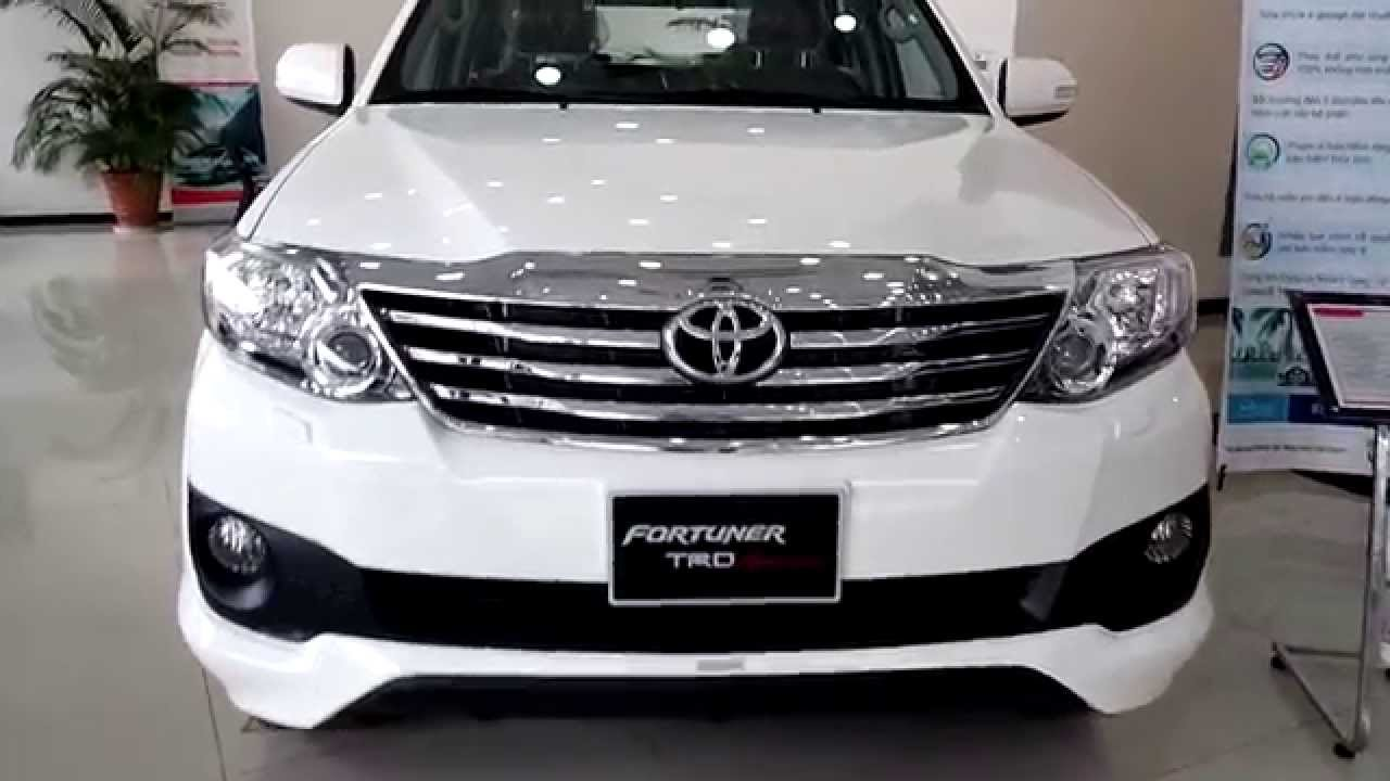 Toyota Fortuner Trd Sportivo 2014 2015 đ 227 C 243 Xe Giao Ngay