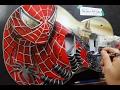 Painting Spiderman Guitar I Airbrush Spiderman / Rafa Fonseca