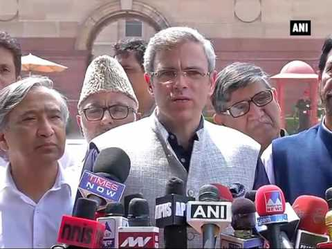 Kashmir issue should be dealt with politically, not by force: Omar Abdullah - ANI News