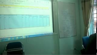 Một ví dụ Lập trình VBA, Macro tính toán Kinh tế và quản lý xây dựng, ngày 8/6/2014