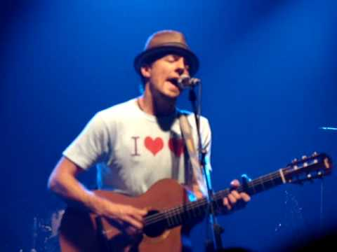 Jason Mraz - All Dialed In [LIVE] Copenhagen 06.23.09