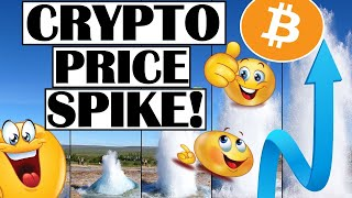 CRYPTO PRICE SPIKE!  EXTREME BITCOIN VOLATILITY!  INSTITUTIONS CAUGHT BUYING HUGE AMOUNTS OF CRYPTO!