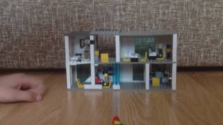 Обзор Лего (№1) Полицейский участок