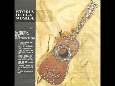 01.06 - Storia della Musica - Fabbri Ed. - 1964 - La Musica Fiamminga nel '400