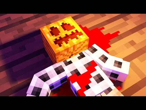 HALLOWEEN PARTY MURDER! | Minecraft Murder Mystery