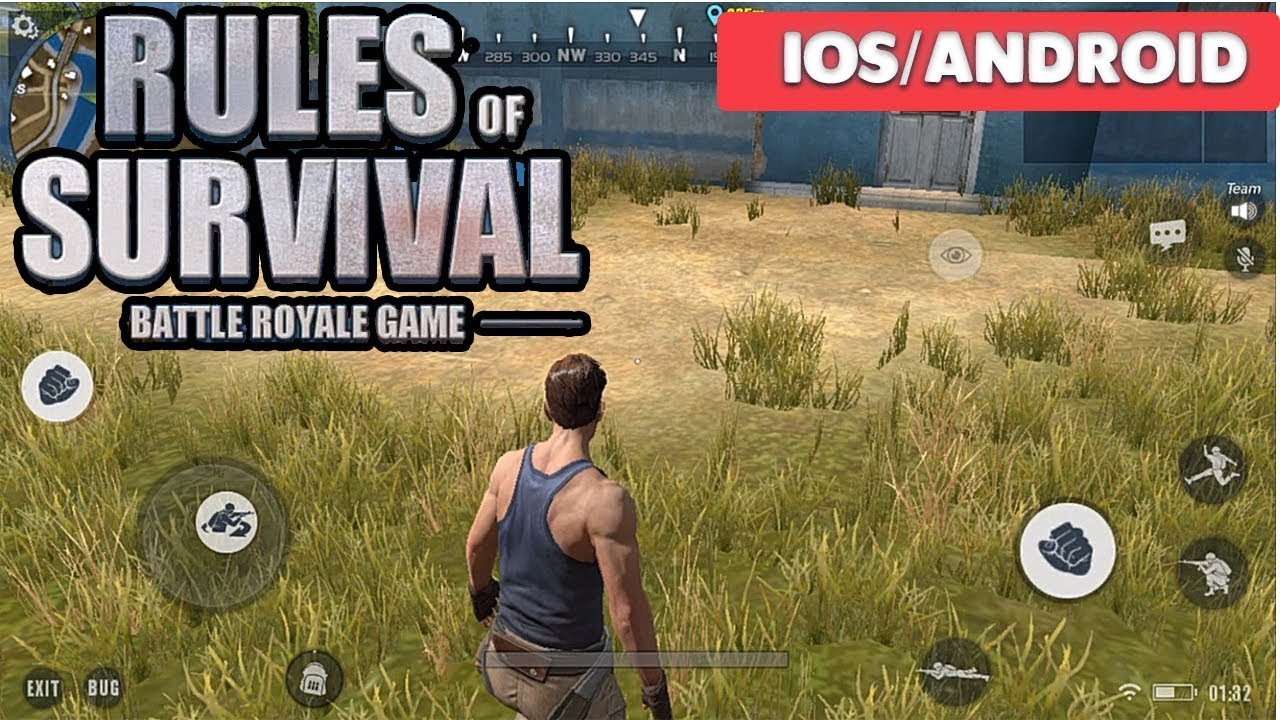 rules of survival online game
