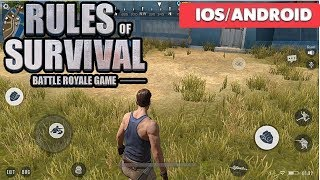 RULES OF SURVIVAL - iOS / ANDROID GAMEPLAY