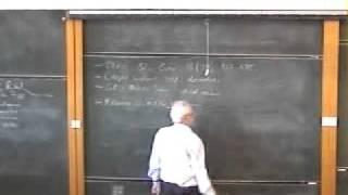 Cosmology, George Ellis | Lecture 1 Part 1