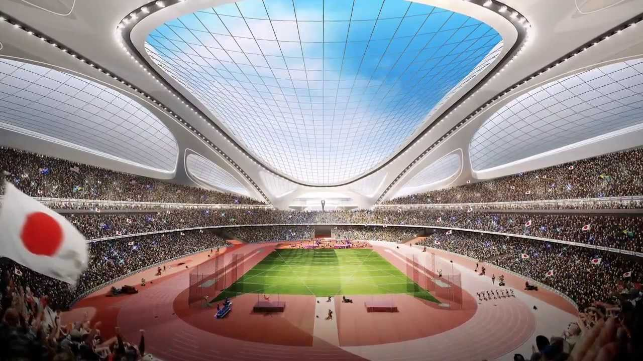 Image result for tokyo stadium olympics 2020