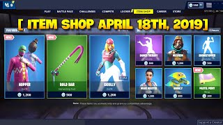 [ ITEM SHOP April 18th, 2019] Fortnite Battle Royale