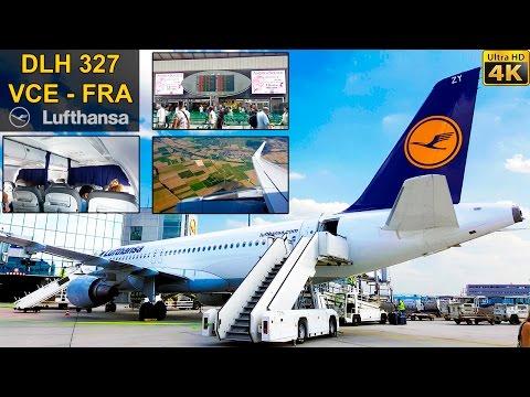 FLIGHT EXPERIENCE | Venice - Frankfurt | LUFTHANSA A320 Sharklets