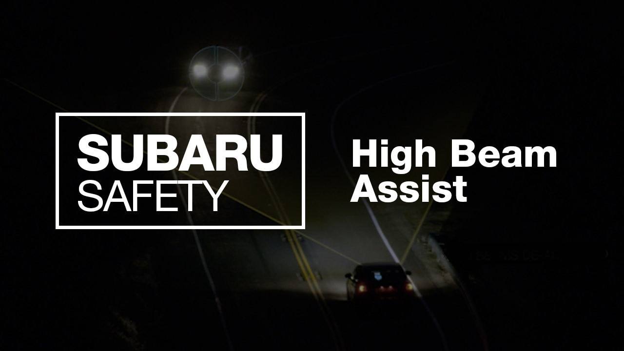 What Is Subaru High Beam Assist New 2017 Safety Feature Youtube