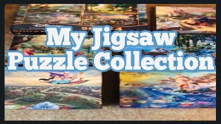 My Disney Jigsaw Puzzle Collection | Hobby Room Tour