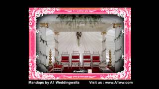 Wedding Mandap Decoration by A1 Weddingwalla A1wwMD011