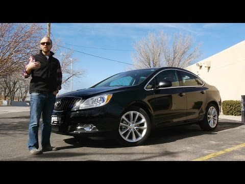 2015 Buick Verano FWD: A Nice Little Car.  Real world review and test