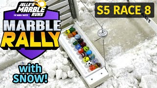 Marble Rally with SNOW and ICE! - Season 5, Race 8