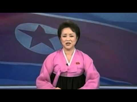 Over-Enthusiastic North Korea TV Anchor Announces Rocket Lau