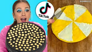 Trying TIK TOK FOOD HACKS To See If They Actually Work - PART 2