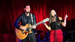 """Aijia & Andy Grammer duet """"What a Wonderful World"""" 2016"""