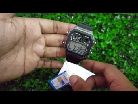 รีวิวนาฬิกาข้อมือ CASIO AE-1300WH-8AVDF ของแท้ จากร้านนาฬิกาเห็นแล้วช็อค