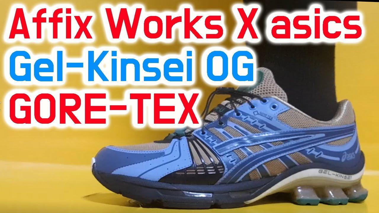 AFFIX X ASICS GEL KINSEI OG GORE TEX