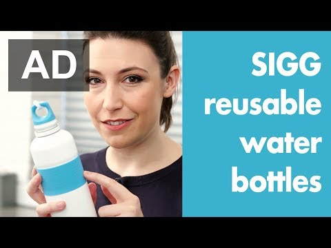 SIGG reusable water bottles - how they fit into family life