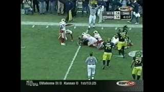 2002: Michigan 21 Wisconsin 14