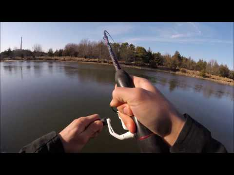 Jigging for Stripers at Oyster Creek NJ