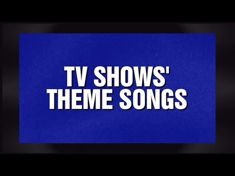 Alex Trebek Reciting TV Shows' Theme Song Lyrics - Jeopardy! 12.24.13