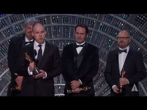 """Interstellar"" winning the Oscar® for Visual Effects"