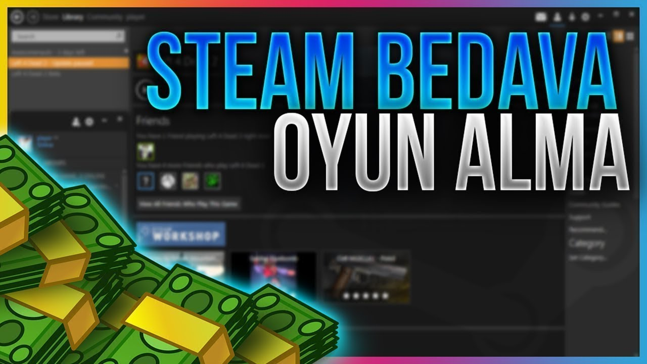 Steam'den Paralı Oyunları Bedava İndirmek ! ( CS:GO, PUBG, GTA 5) Steam dan Ücretsiz Oyun Alma