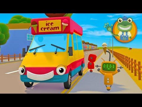 Ice Cream Truck Song | Gecko's Garage