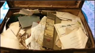 Saving a WW2 Australian POW Soldiers War Records - Trenchart - Japanese Kamikaze Pilot's Scarf etc