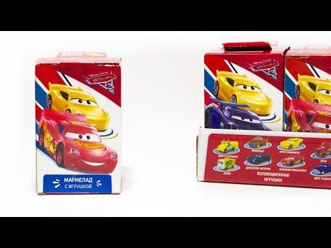 Видео, ТАЧКИ 3 Новинка от СВИТБОКС Игрушки по мультику про машинки Тачки 3 Disney Pixar Cars 3