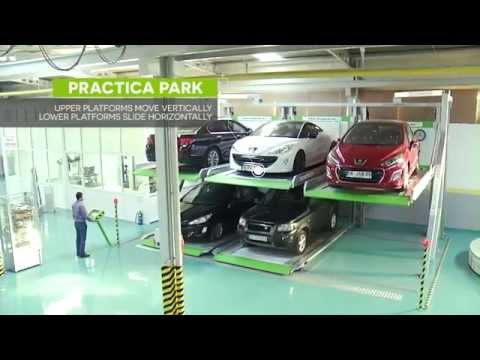 Multi-Storey Car Parking in a Single Space - Traffex 2015