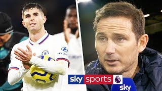 Frank Lampard reveals why he snubbed hat-trick hero Pulisic earlier this season   Post Match