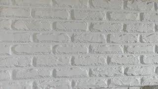 видео Декоративный кирпич своими руками