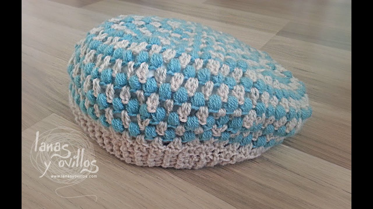Tutorial Boina Crochet o Ganchillo - YouTube
