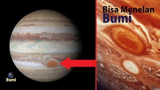 Video Tak Disangka! Bintik Merah Raksasa Pada Planet Jupiter ini Mampu Menghisap Bumi! download MP3, 3GP, MP4, WEBM, AVI, FLV September 2018